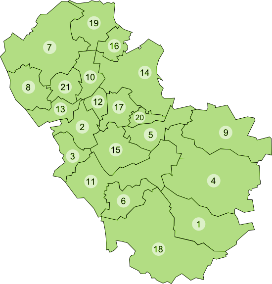 Rotherham areas